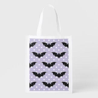 Pastel Goth Spooky Cute Bats Kawaii Shopper Tote