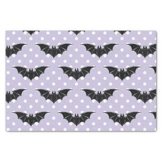 Pastel Goth Spooky Cute Bats Kawaii Tissue Paper