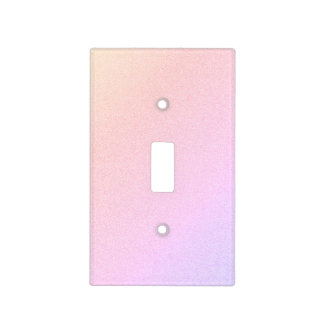 Pastel Gradient Light Switch Cover