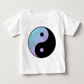 Pastel Gradient Yin Yang Baby T-Shirt