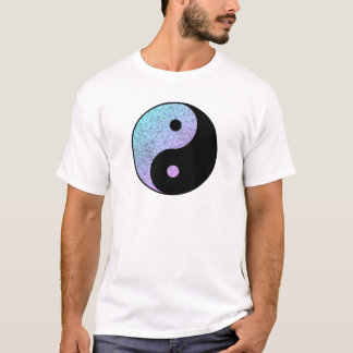Pastel Gradient Yin Yang T-Shirt