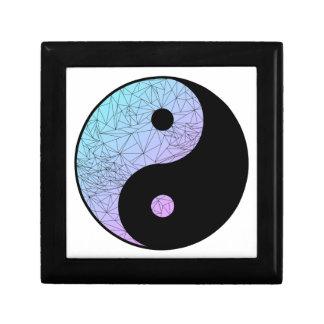 Pastel Gradient Yin Yang Trinket Boxes