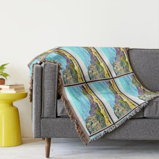 Pastel Grand Canyon Throw Blanket
