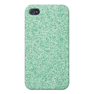 Pastel Green Glitter Cover For iPhone 4