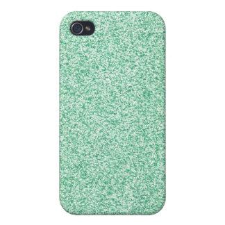 Pastel Green Glitter iPhone 4 Case