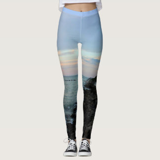 Pastel Gulf Sunset Leggings