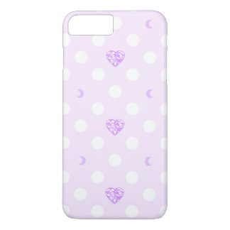 Pastel Heart Crystal and Moon iPhone 7 Plus Case