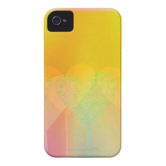 Pastel Hearts iPhone 4 Case-Mate Case