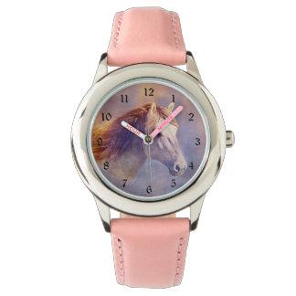 Pastel horse watch