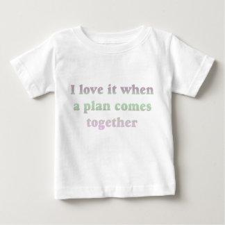 Pastel I Love It Baby T-Shirt