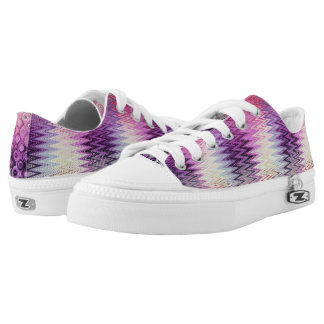 PASTEL IKAT SWEETNESS Low-Top SNEAKERS