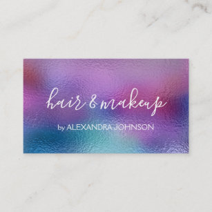 Iridescent business cards business card printing zazzle ca pastel iridescent foil blue purple and teal business card colourmoves
