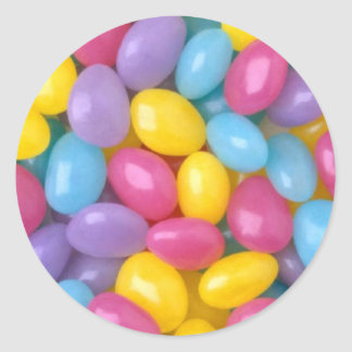 Pastel jelly beans stickers