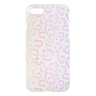 Pastel Kawaii Leopard Rainbow Animal Print iPhone 8/7 Case