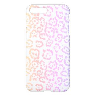 Pastel Kawaii Leopard Rainbow Animal Print iPhone 8 Plus/7 Plus Case