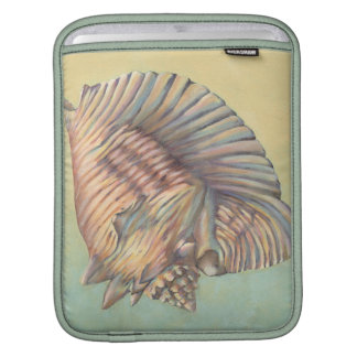 Pastel Large Conch Shell Sleeve For iPads