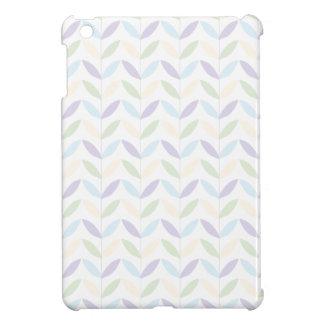 Pastel Leafs iPad Mini Case