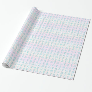 Pastel Libra Wrapping Paper