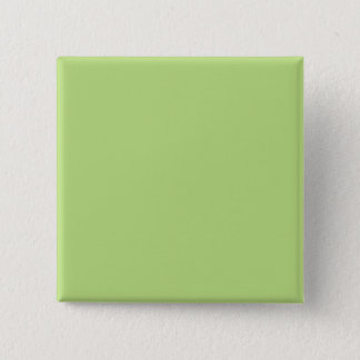 Pastel Light Green Personalized Color Background 2 Inch Square Button
