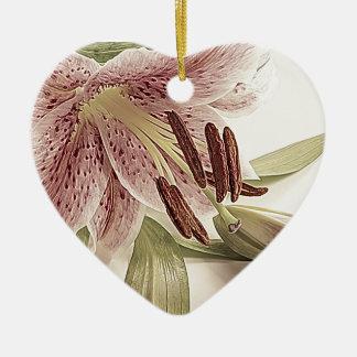 Pastel Lilly. Ceramic Ornament