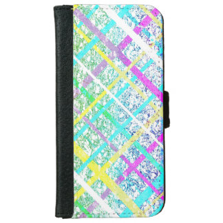 Pastel Line Pop Art iPhone 6 Wallet Case