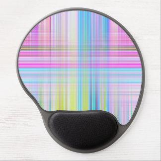 Pastel Lines Gel Mouse Pad
