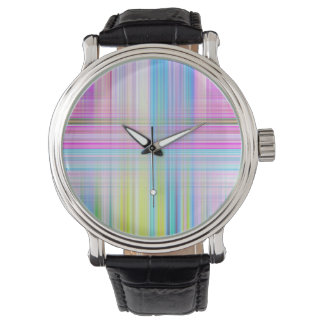 Pastel Lines Watch