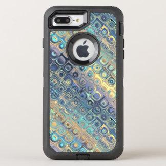 Pastel Liquid Dots Abstract Pattern OtterBox Defender iPhone 8 Plus/7 Plus Case