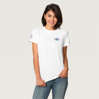 Pastel Logo Planet M13 Embroidered Tee Embroidered Shirts