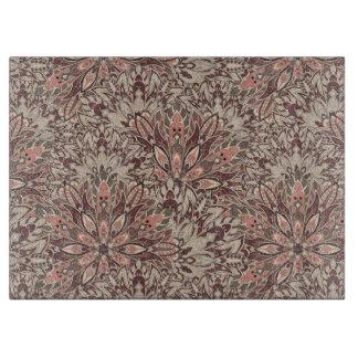 Pastel mandala pattern. cutting board