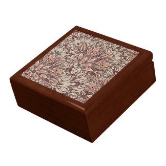 Pastel mandala pattern. gift box
