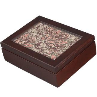Pastel mandala pattern. keepsake box