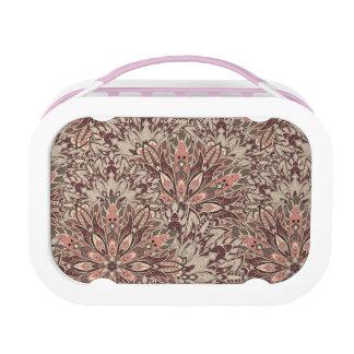Pastel mandala pattern. lunch box
