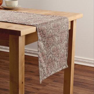 Pastel mandala pattern. short table runner