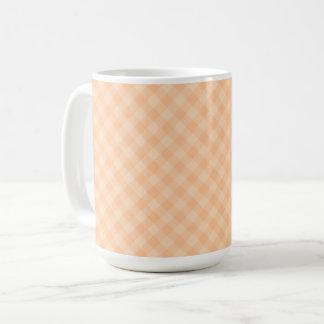 Pastel Melon Tartan 15 oz Mug