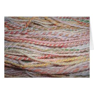 pastel merino yarn card