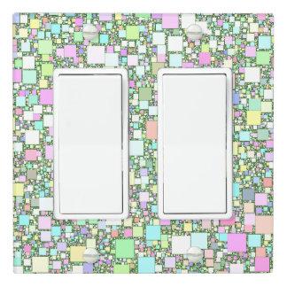 Pastel Mini Box Design Light Switch Cover