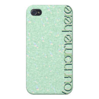 Pastel Mint Green led 4 Speck  Case For iPhone 4