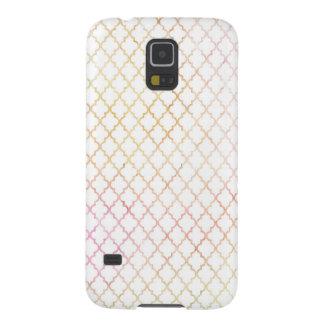 Pastel Modern Quatrefoil Samsung Galaxy S5 Case