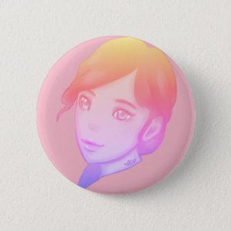 Pastel Mood 2 Inch Round Button