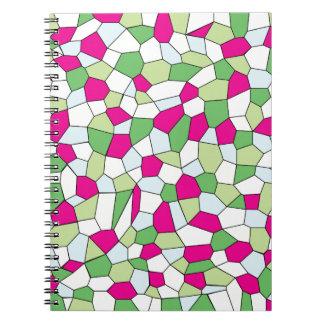 Pastel Mosaic Notebook