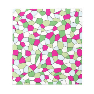 Pastel Mosaic Notepad