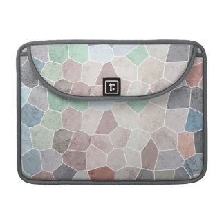 Pastel Mosaic Sleeve For MacBook Pro