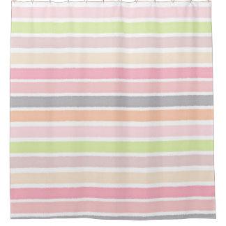 Pastel Multicolors Watercolor Stripes