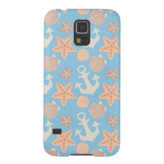 Pastel Nautical Pattern Cases For Galaxy S5