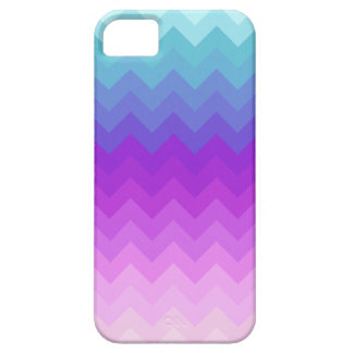 Pastel Ombre Chevron Pattern iPhone 5 Case