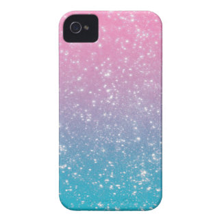 Pastel Ombre Glitter iPhone 4 Case-Mate Cases