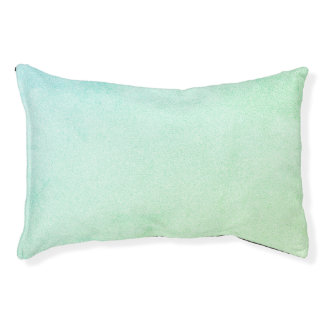 Pastel Ombre Glitter Look Pet Bed