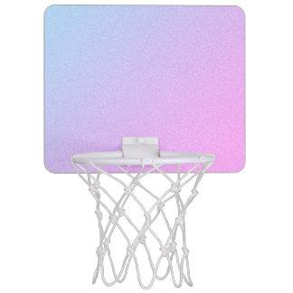 Pastel Ombre Glitter Mini Basketball Hoop