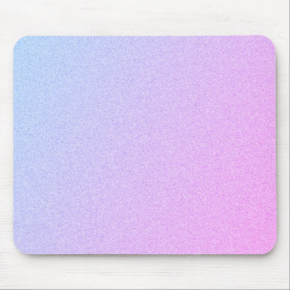 Pastel Ombre Glitter Mouse Pad